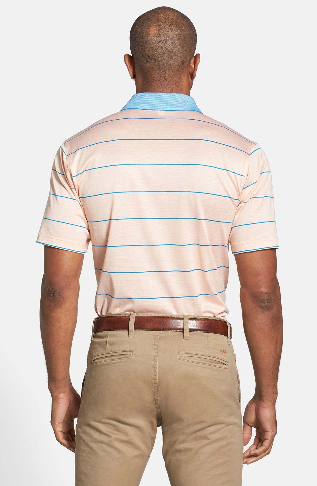 Alternate Image 2  - Peter Millar 'Miami' Stripe Cotton Polo