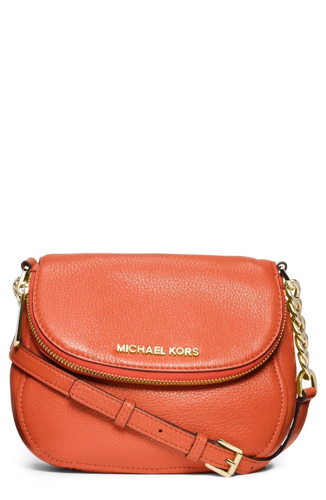 Alternate Image 1 Selected - MICHAEL Michael Kors 'Bedford' Leather Crossbody