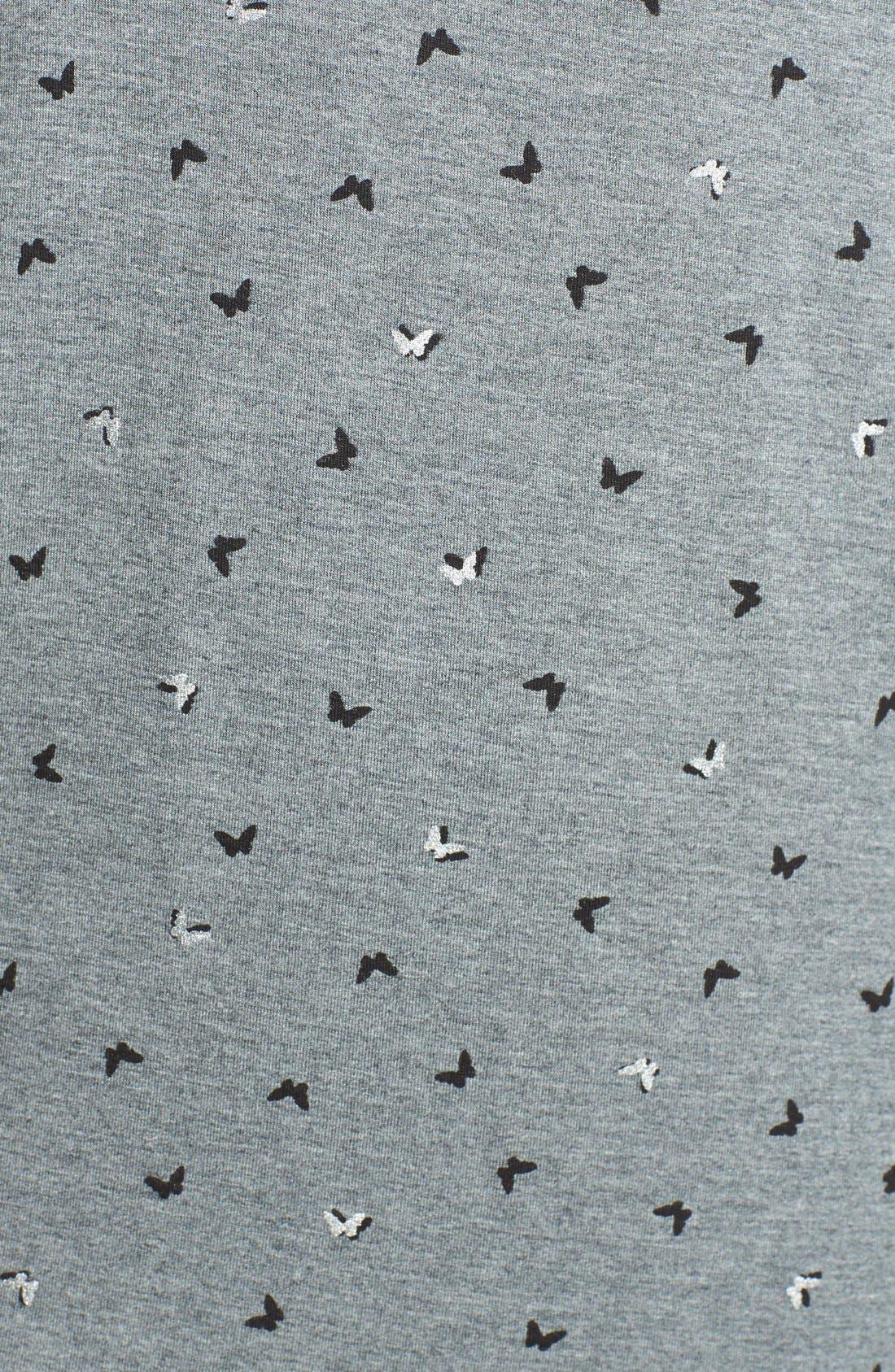Alternate Image 3  - kensie 'Block Party Frankie' Sleep Shirt