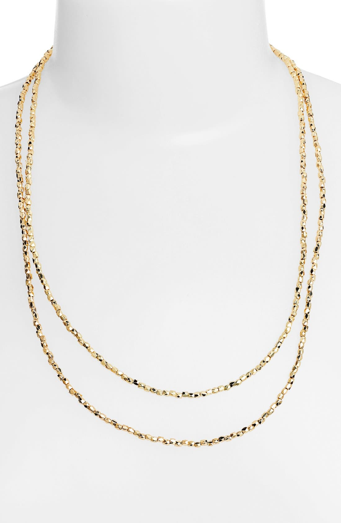 Alternate Image 1 Selected - Nordstrom 'Layers of Love' Extra Long Bead Necklace