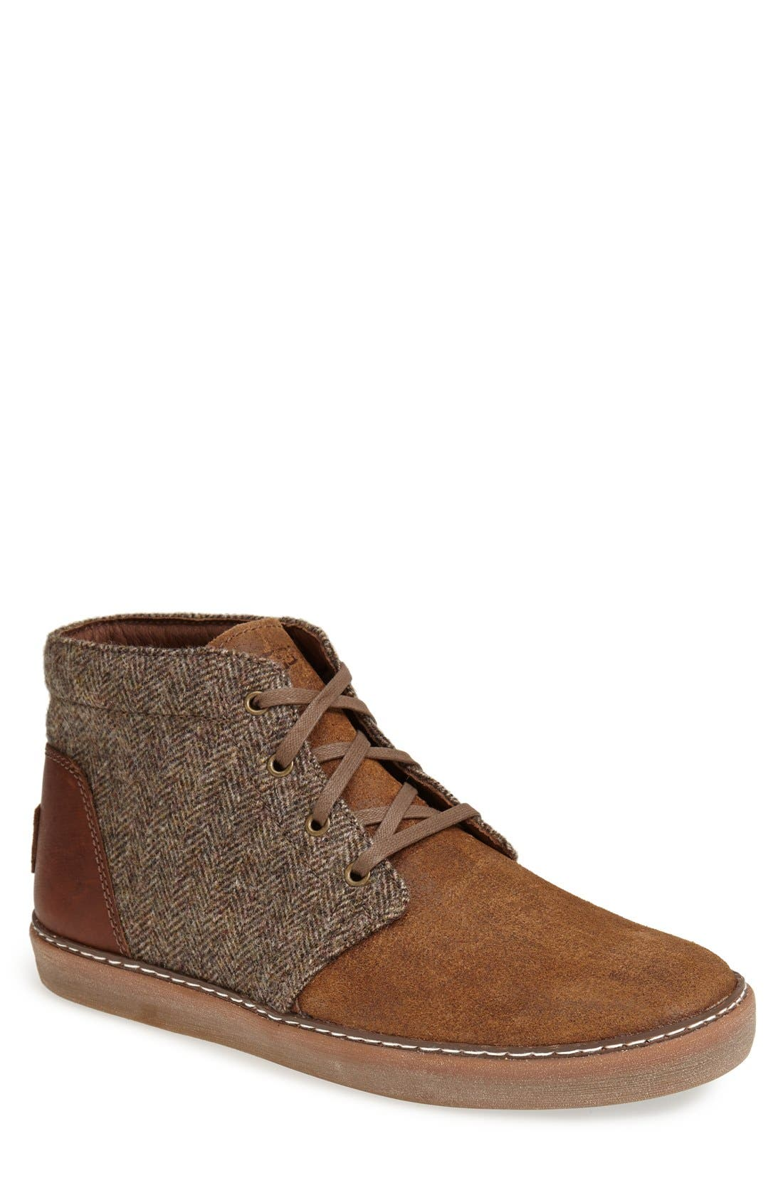 Alternate Image 1 Selected - UGG® 'Alin' Tweed Chukka Boot (Men)