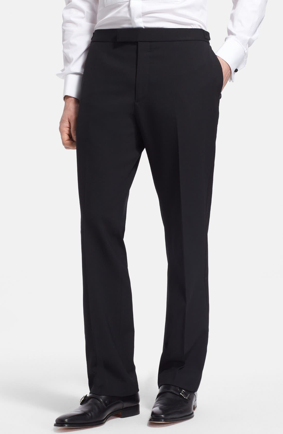 Alternate Image 4  - Ralph Lauren Black Label Wool Tuxedo