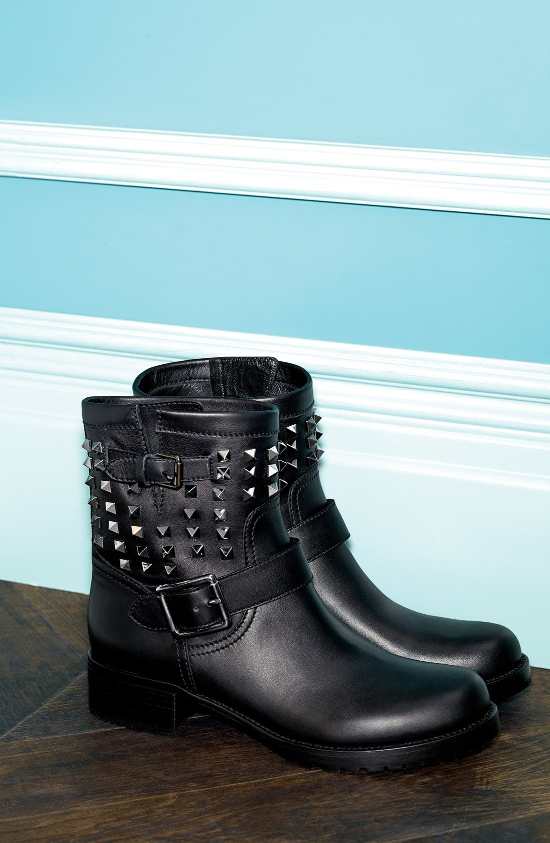 Alternate Image 5  - Valentino 'Rockstud' Biker Boot