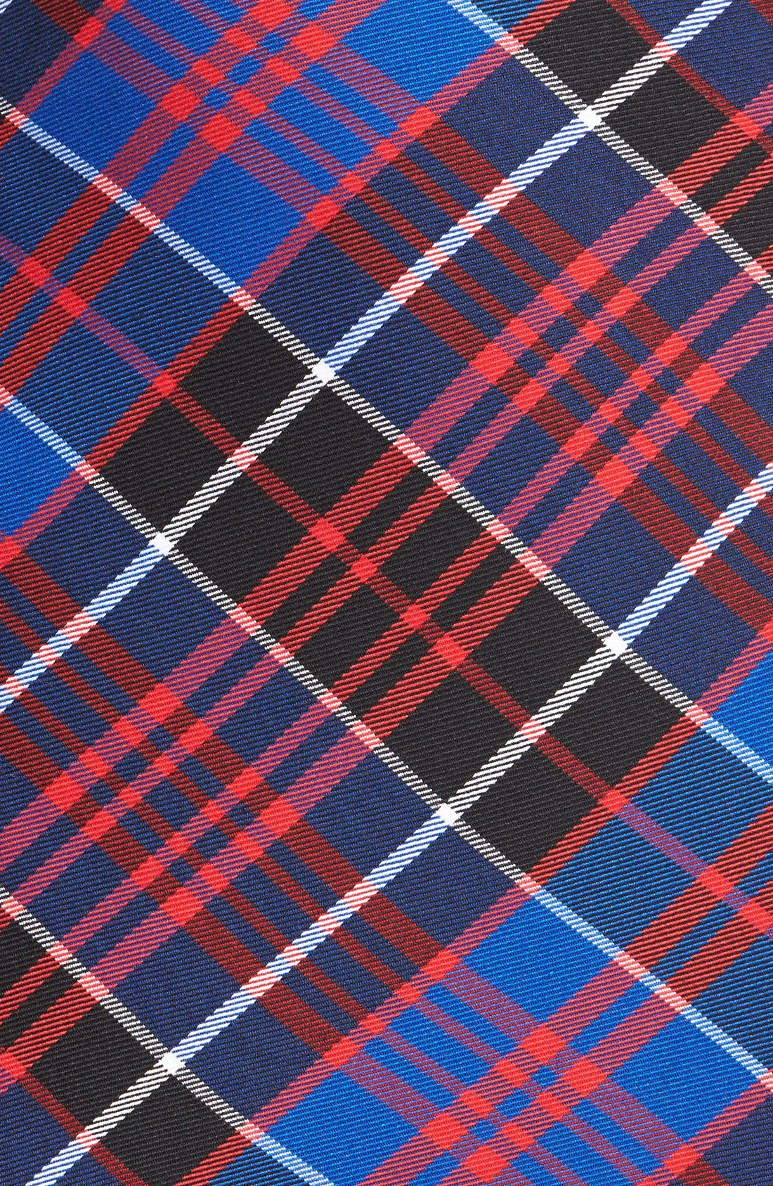 Alternate Image 3  - Anne Klein Zip Detail Plaid Skirt