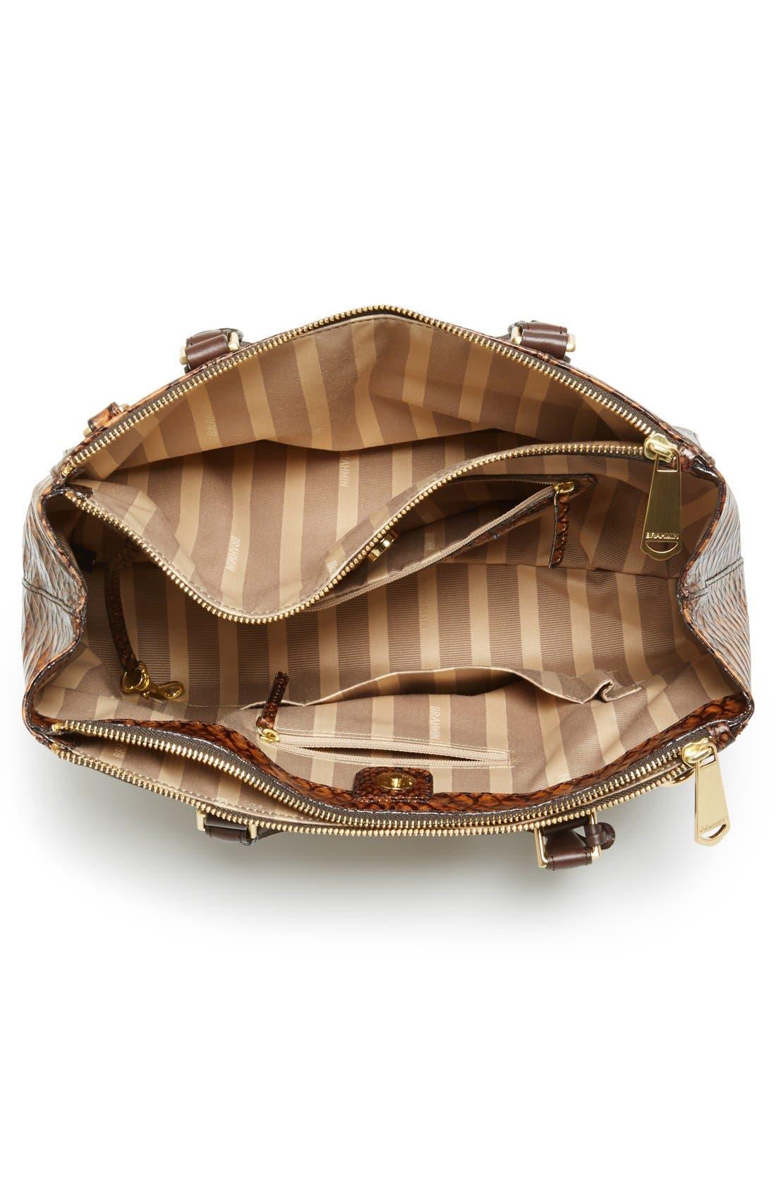 Alternate Image 3  - Brahmin 'Small Lincoln' Leather Shopper