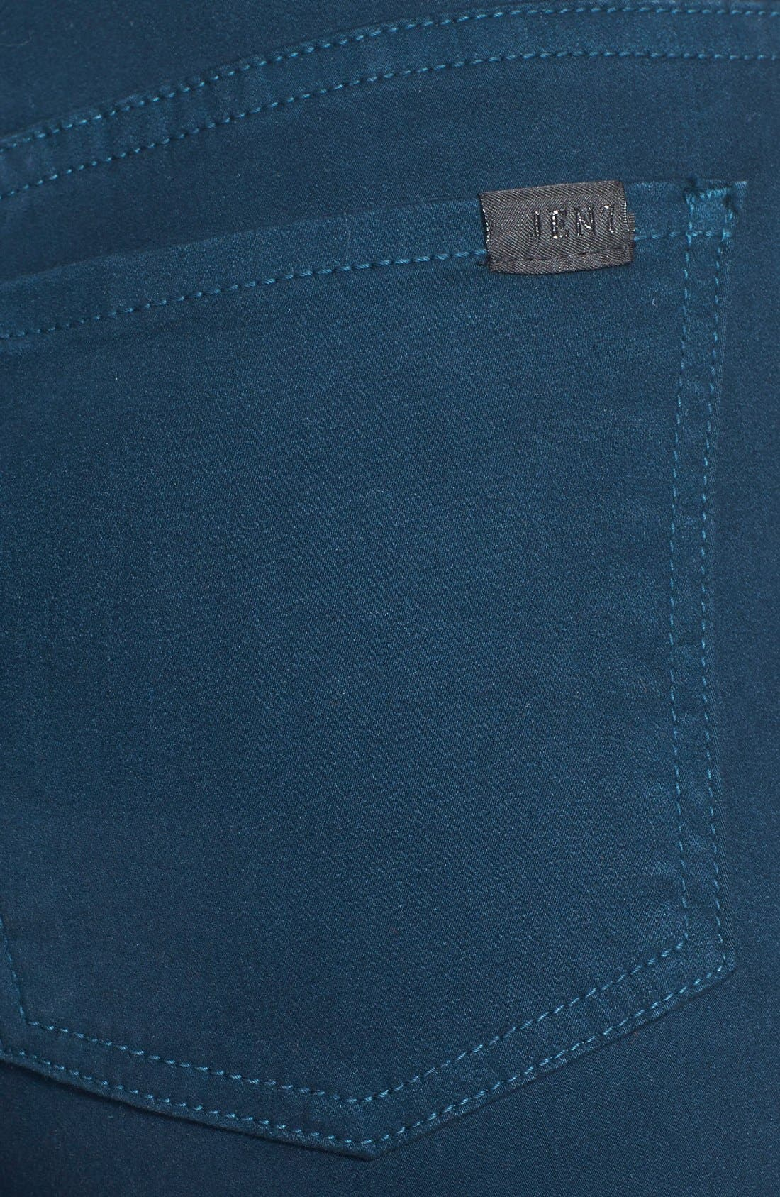 Alternate Image 3  - Jen7 Colored Stretch Denim Skinny Jeans
