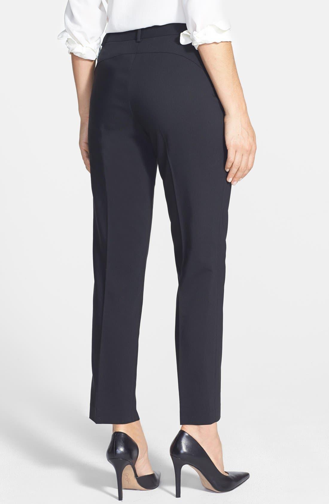 Alternate Image 2  - Chaus Zip Pocket Slim Leg Pants