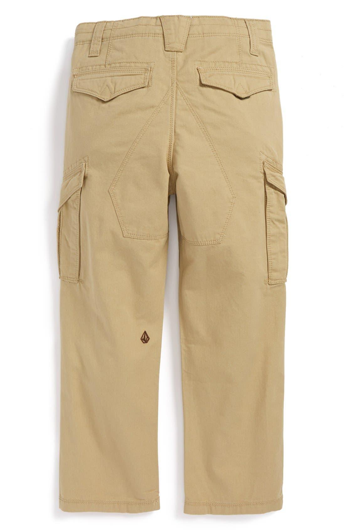 Alternate Image 2  - Volcom 'Mesa' Cargo Pants (Big Boys)