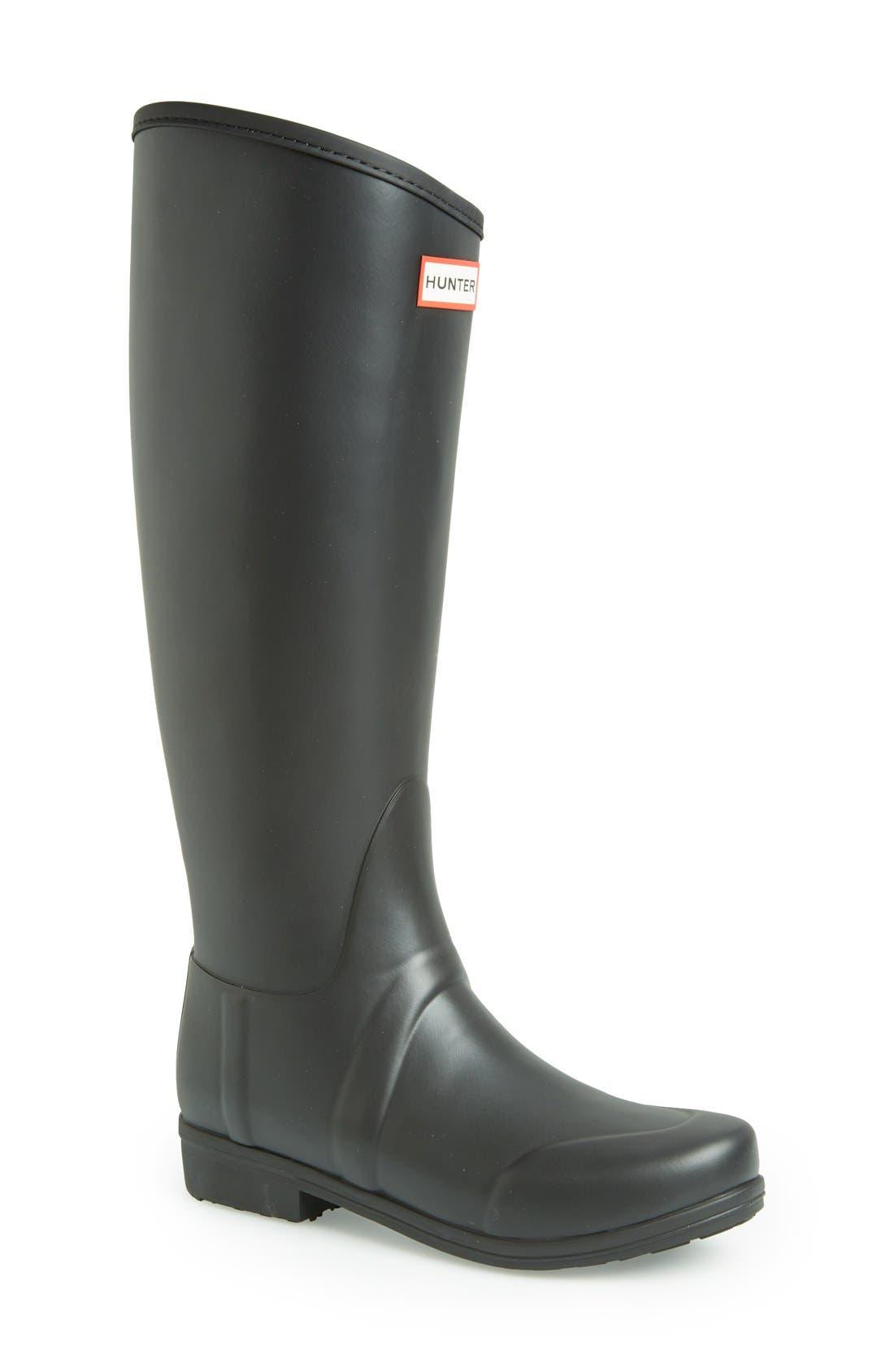Main Image - Hunter 'Sandhurst' Tall Rain Boot (Women)