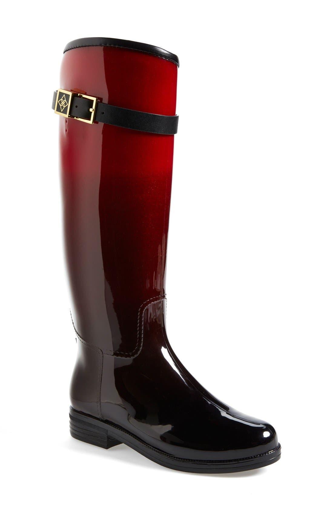 däv 'Bristol' Weatherproof Knee High Rain Boot (Women)