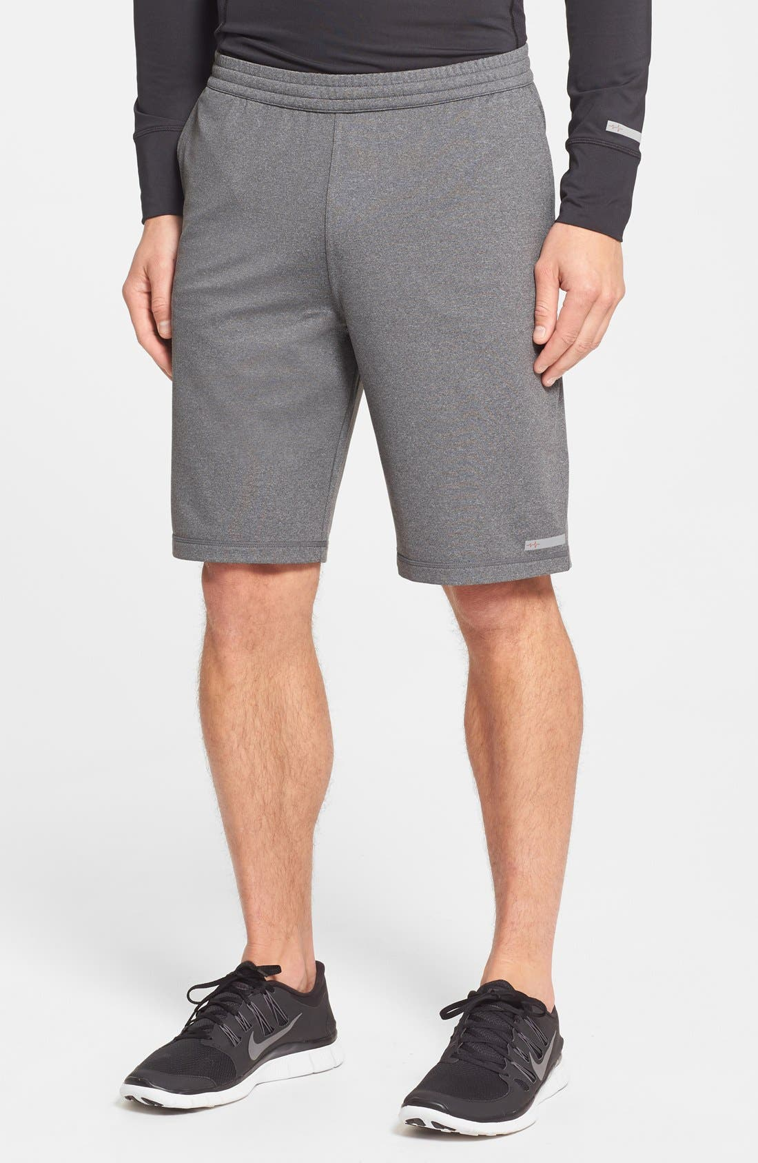 Alternate Image 1 Selected - BPM Fueled by Zella Athletic Running Shorts