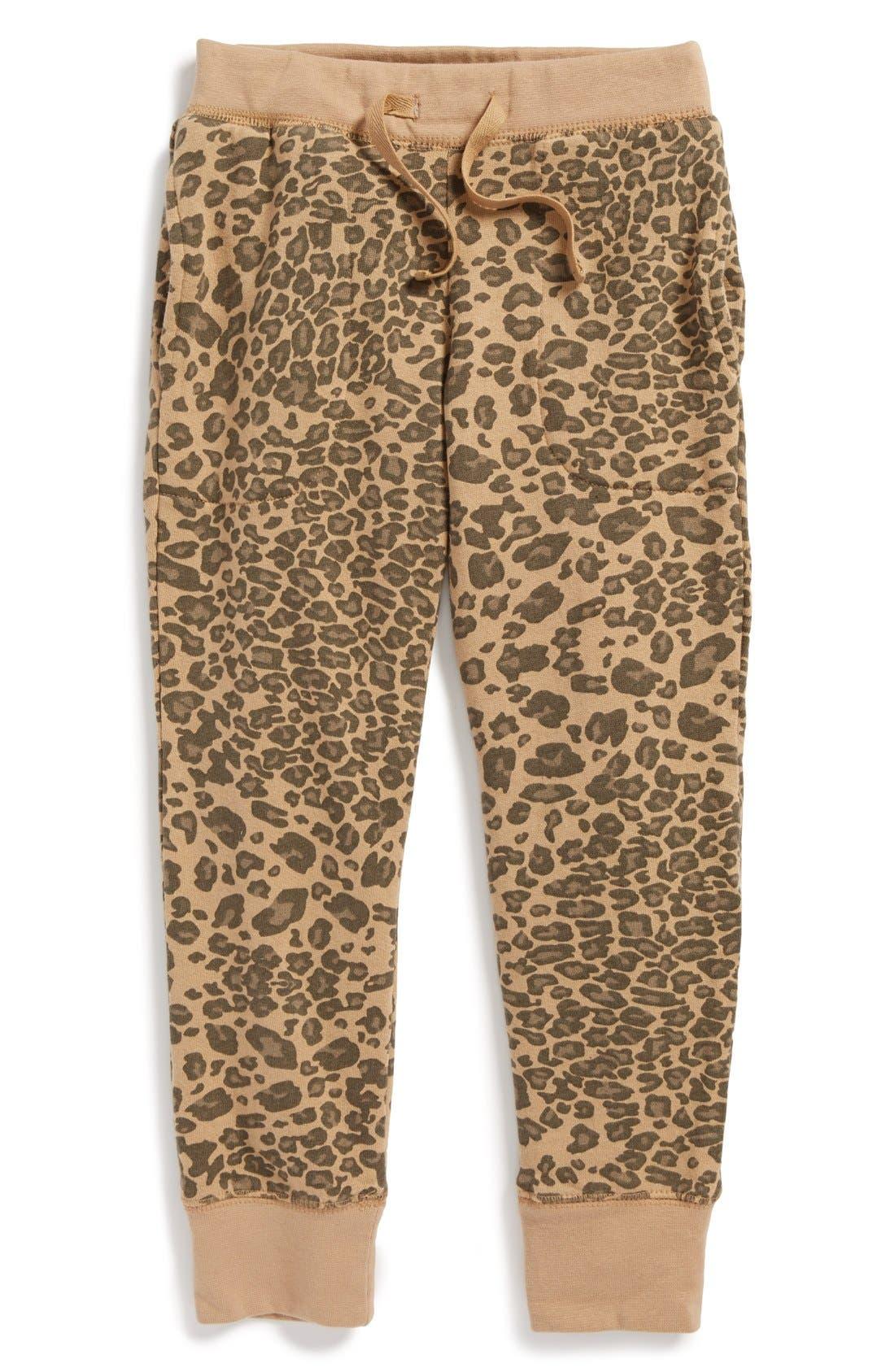 Main Image - Peek 'Luxury' Sweatpants (Toddler Girls, Little Girls & Big Girls)