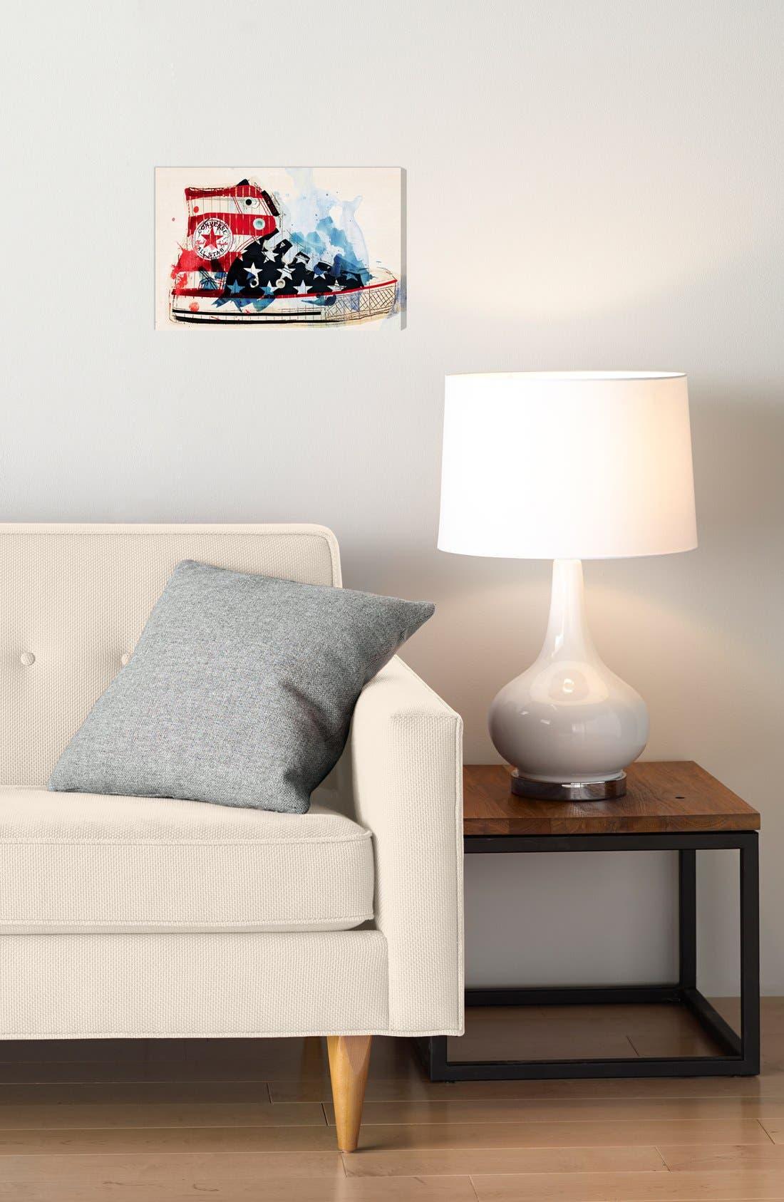 Alternate Image 2  - Oliver Gal 'America's Sneakers' Wall Art