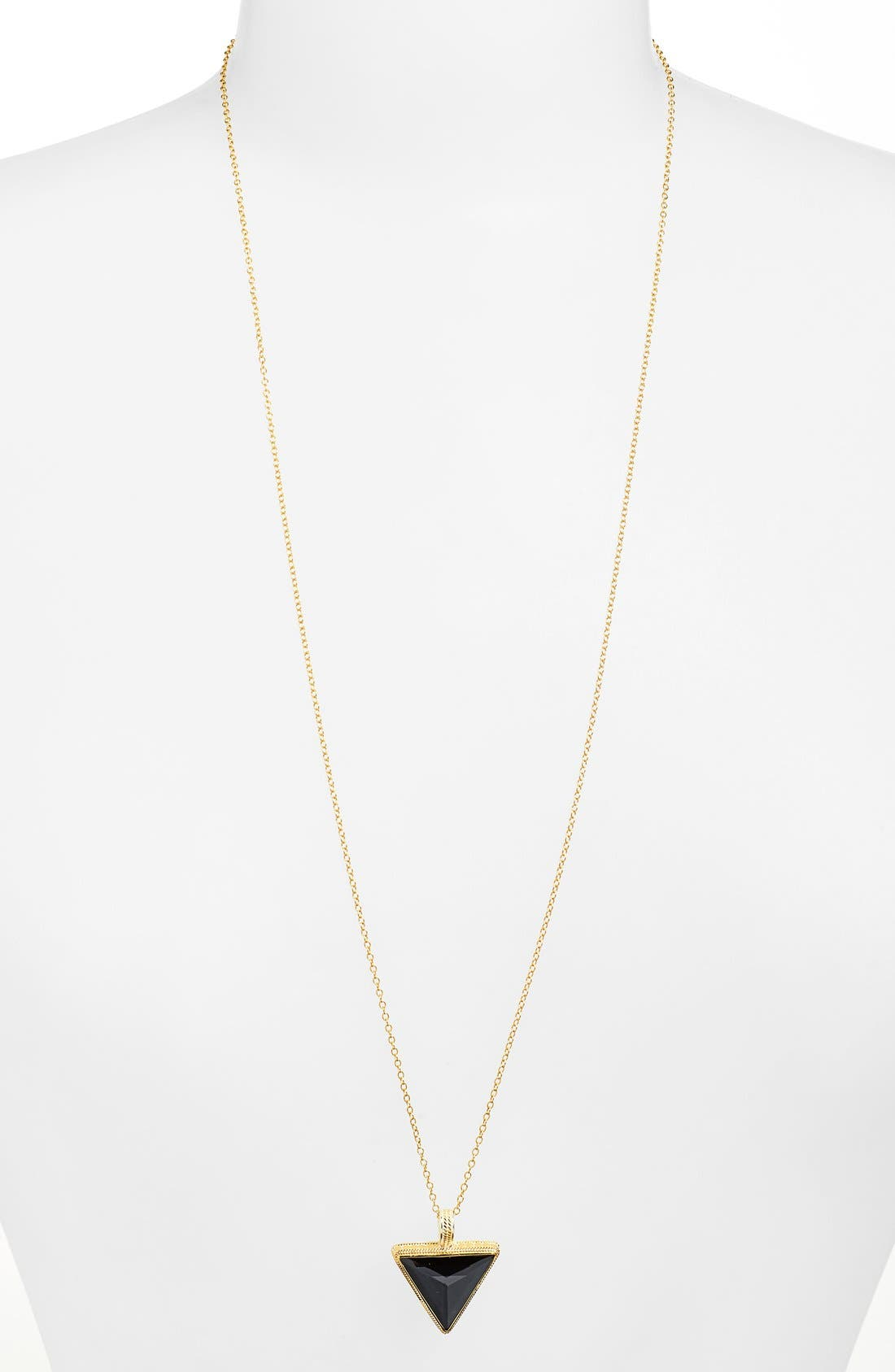 Alternate Image 1 Selected - Anna Beck 'Gili' Triangle Pendant Necklace