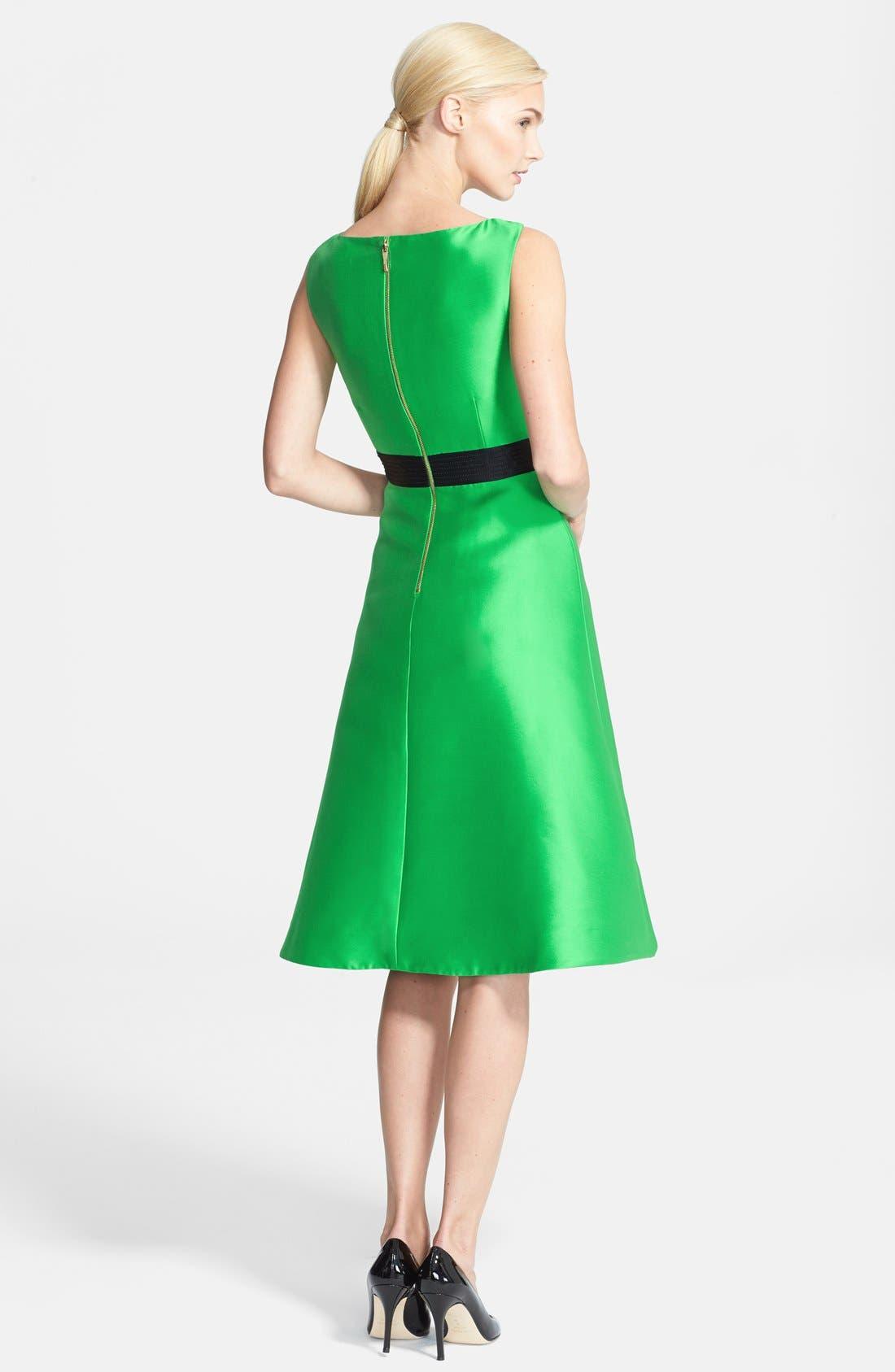 Alternate Image 2  - kate spade new york 'origami' fit & flare dress