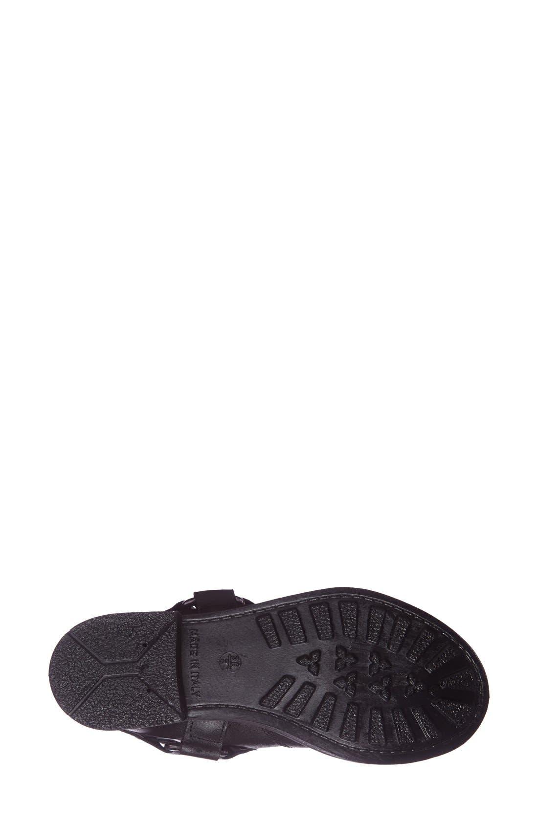 Alternate Image 4  - Topshop 'Buster' Leather Harness Biker Boot (Women)