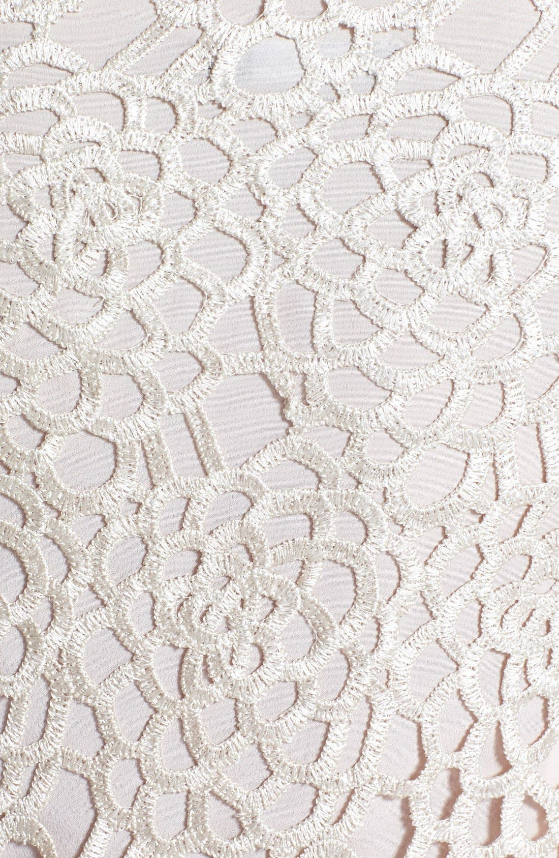 Alternate Image 4  - Marina Lattice Lace Shift Dress