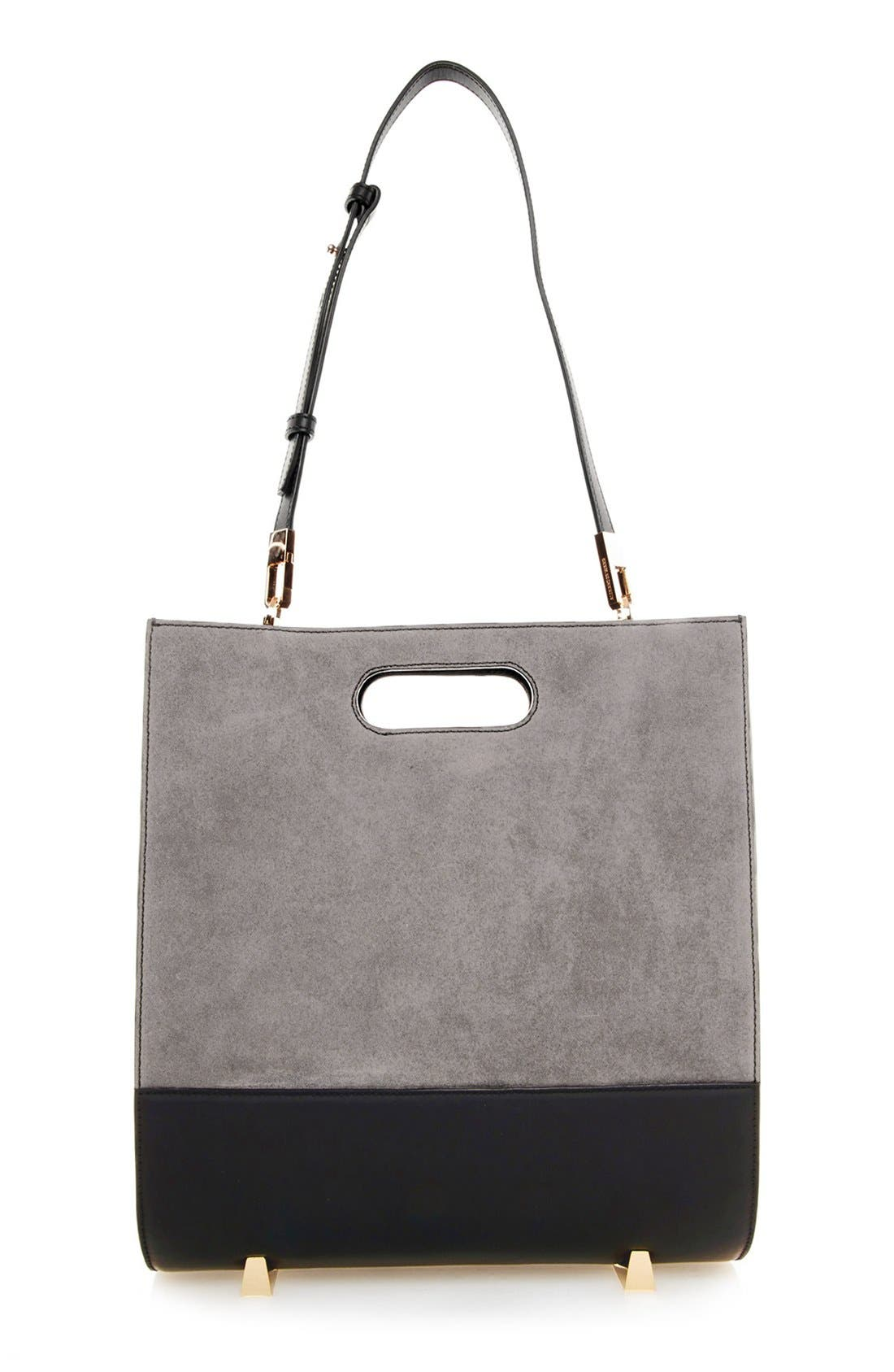 Alternate Image 1 Selected - Alexander Wang 'Chastity' Suede Tote