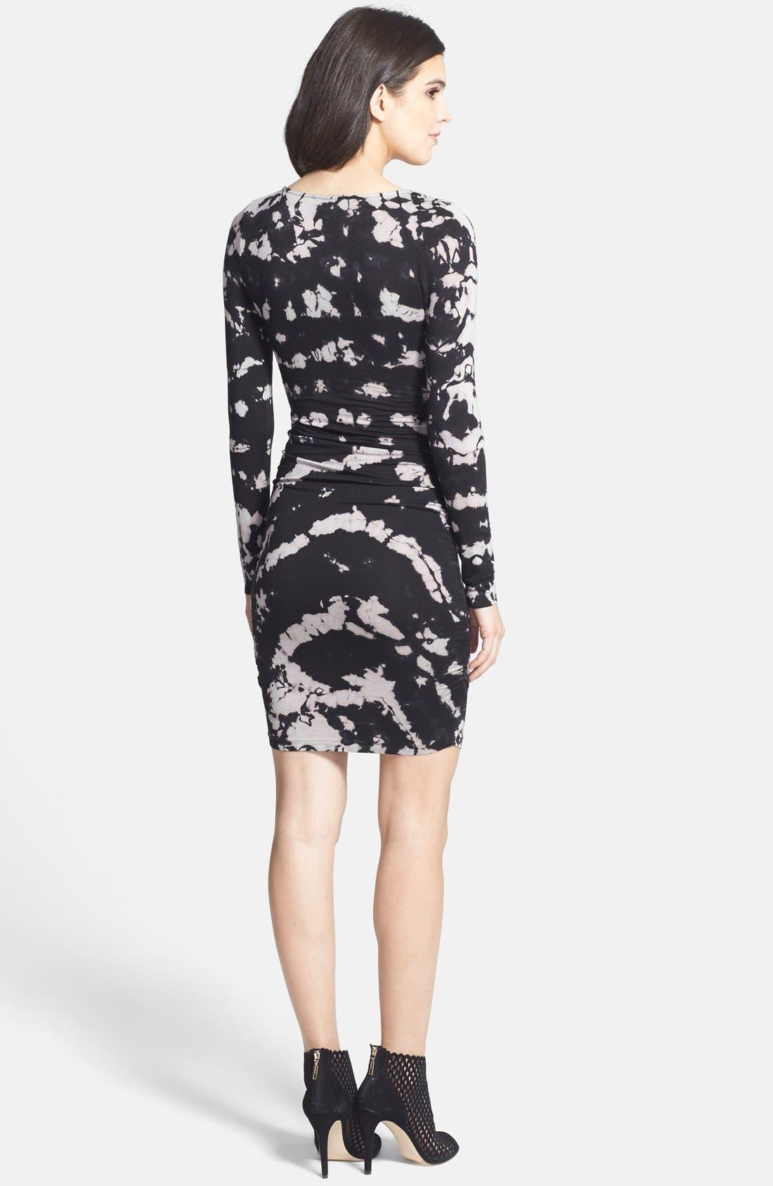 Alternate Image 2  - Gypsy 05 Long Sleeve Body-Con Dress