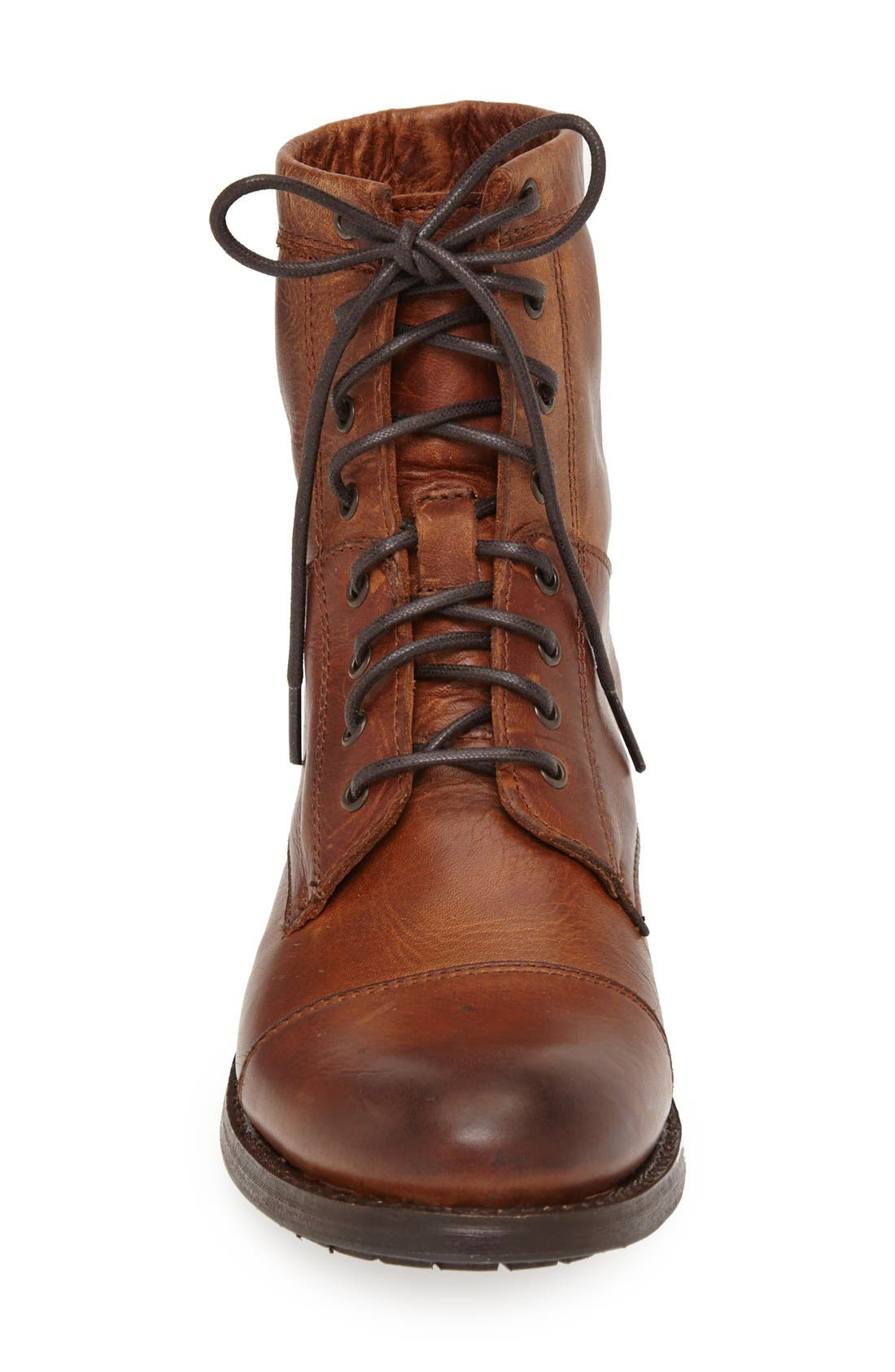 Alternate Image 3  - Frye 'Erin' Cap Toe Leather Lace-Up Boot (Women)