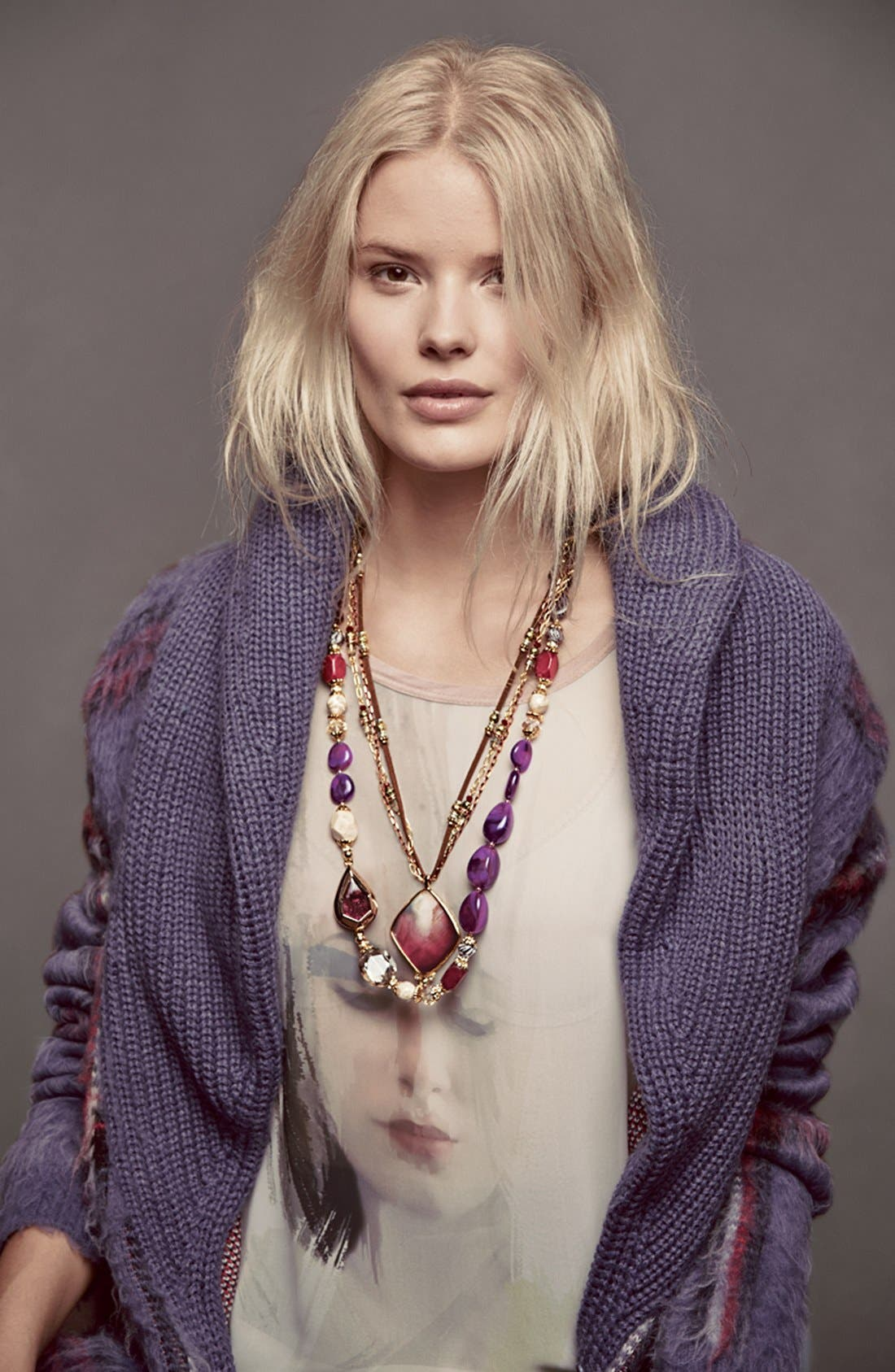 Alternate Image 5  - Sara Bella Bead Necklace
