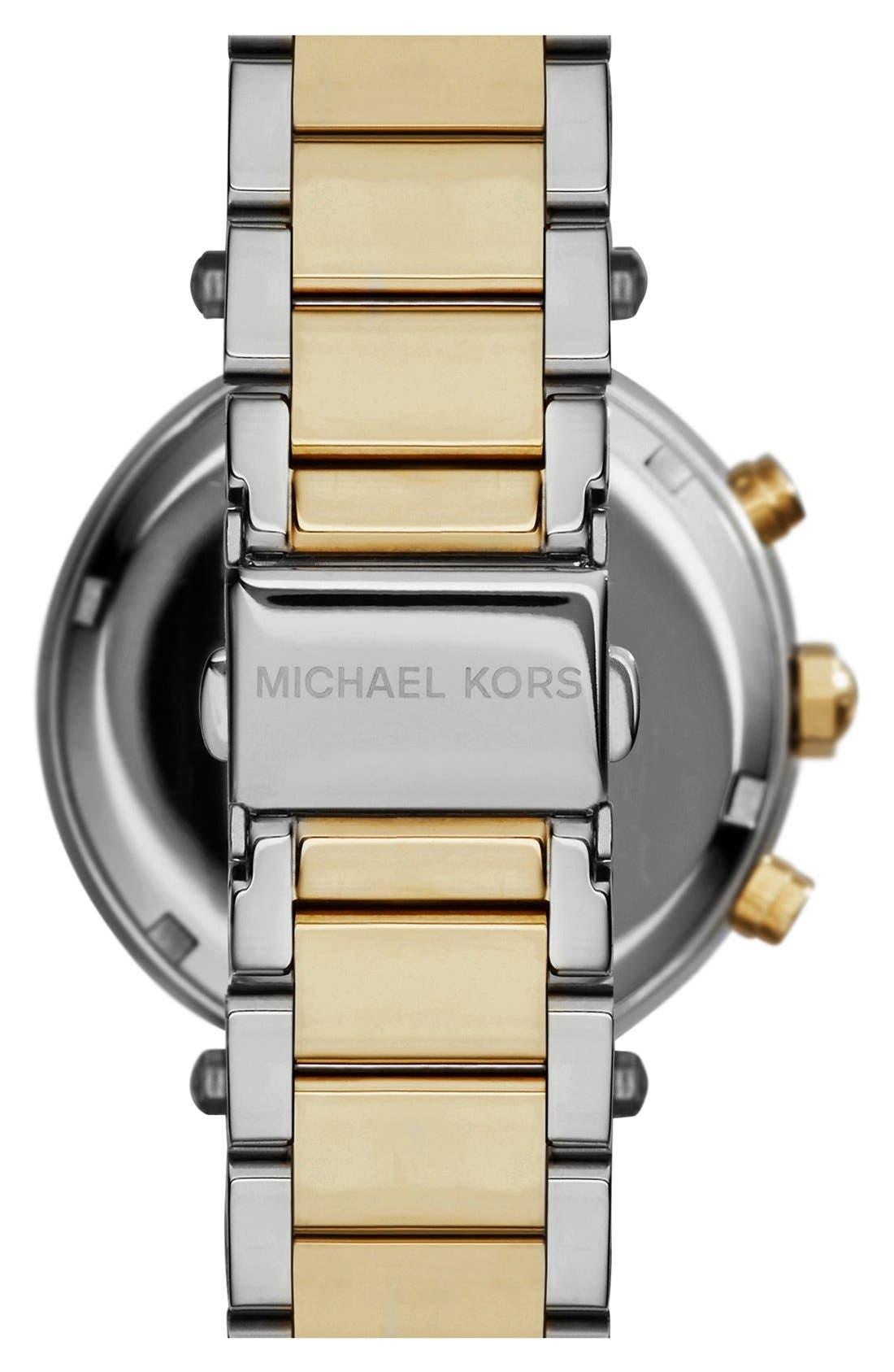 Alternate Image 2  - Michael Kors 'Parker' Chronograph Bracelet Watch, 39mm