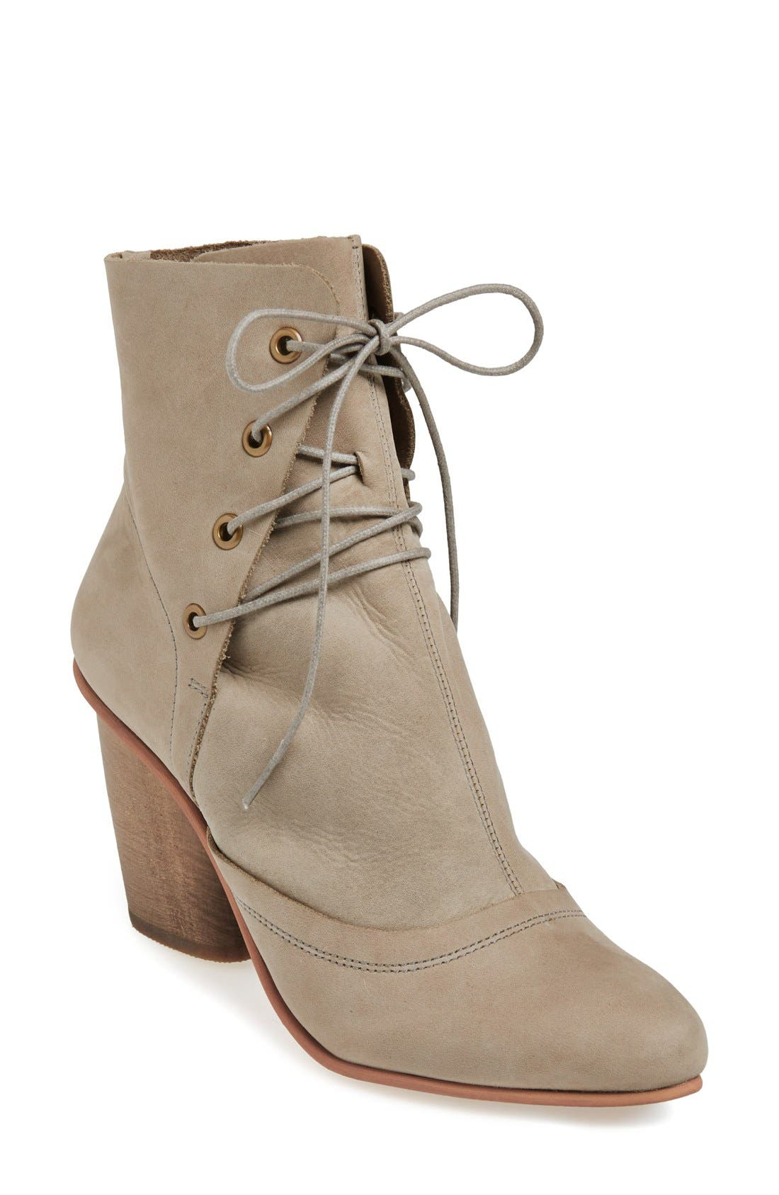 Alternate Image 1 Selected - J SHOES 'Sadie' Leather Bootie (Women)