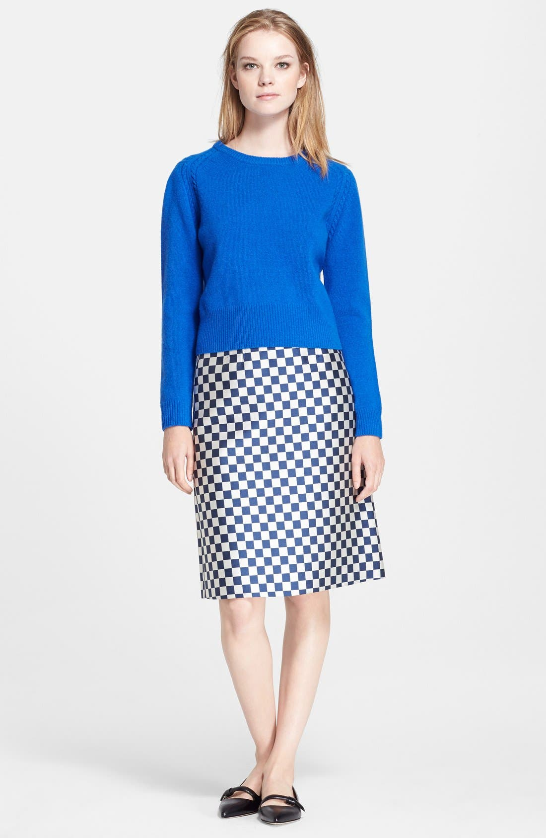 Alternate Image 5  - MARC BY MARC JACOBS Check A-Line Skirt