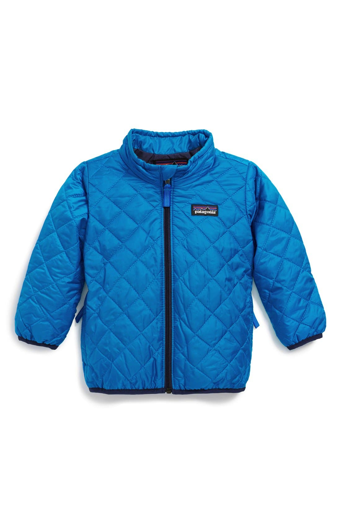 Alternate Image 1 Selected - Patagonia 'Nano Puff' Wind Resistant Water Repellent Jacket (Toddler Boys)