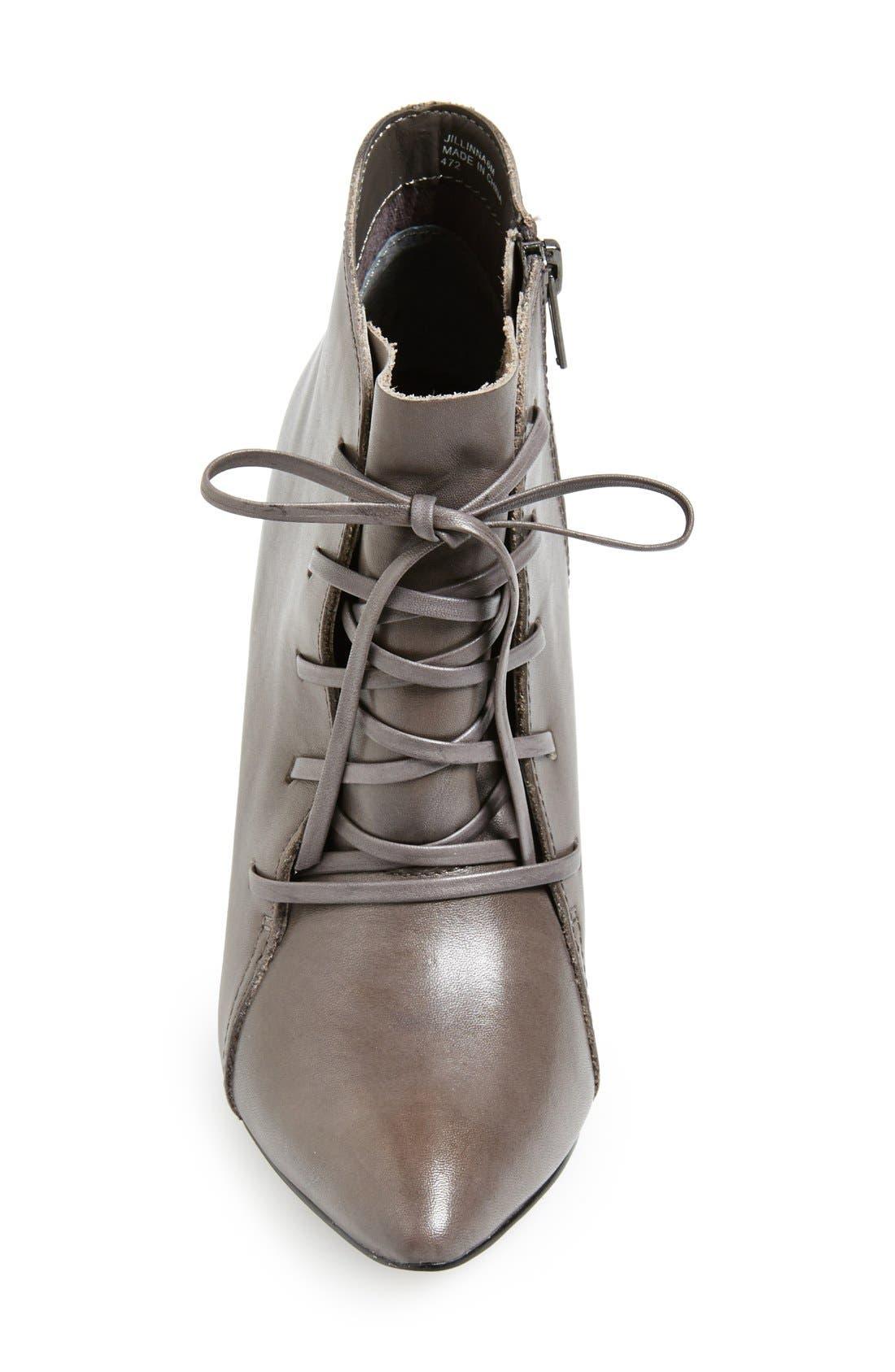 Alternate Image 3  - Steve Madden 'Jillinna' Leather Pointy Toe Bootie (Women)