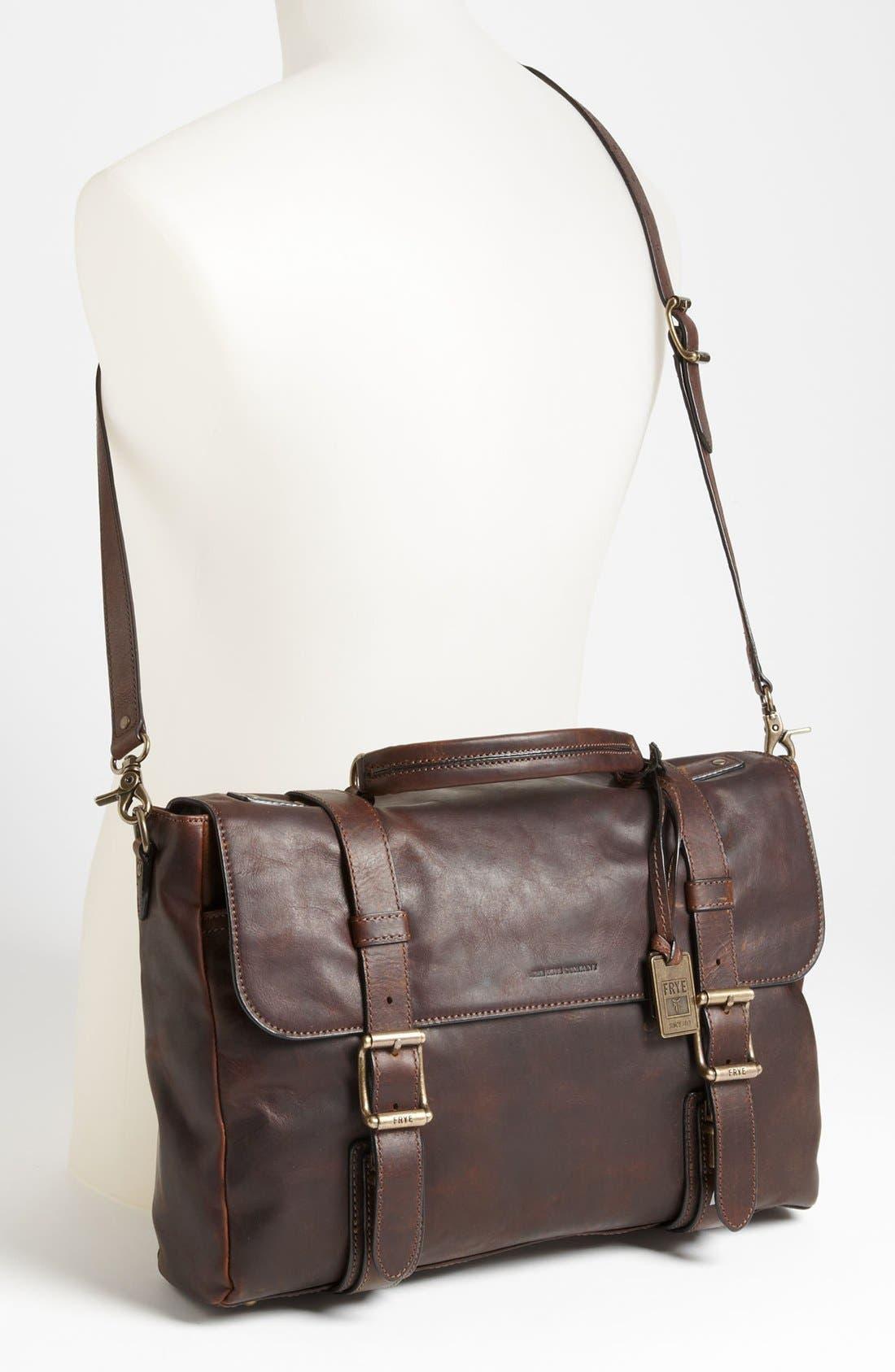 Alternate Image 2  - Frye 'Logan' Leather Flap Briefcase