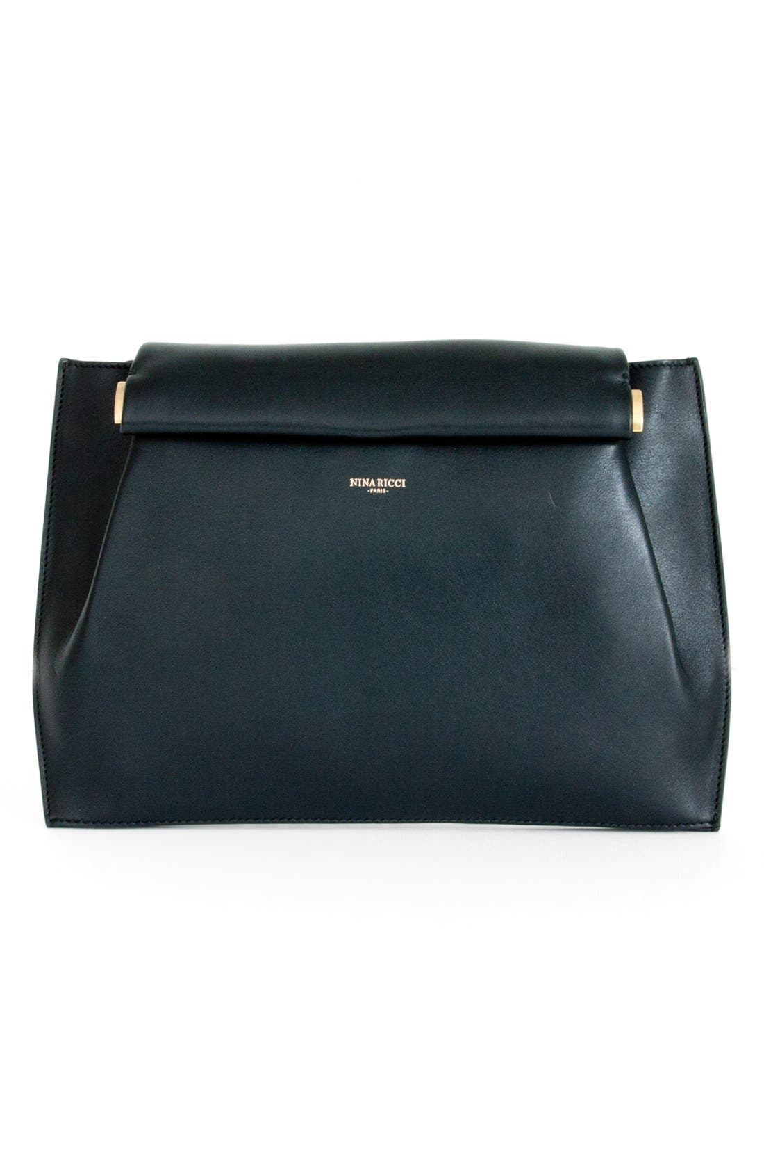 Alternate Image 1 Selected - Nina Ricci 'Thais' Leather Clutch