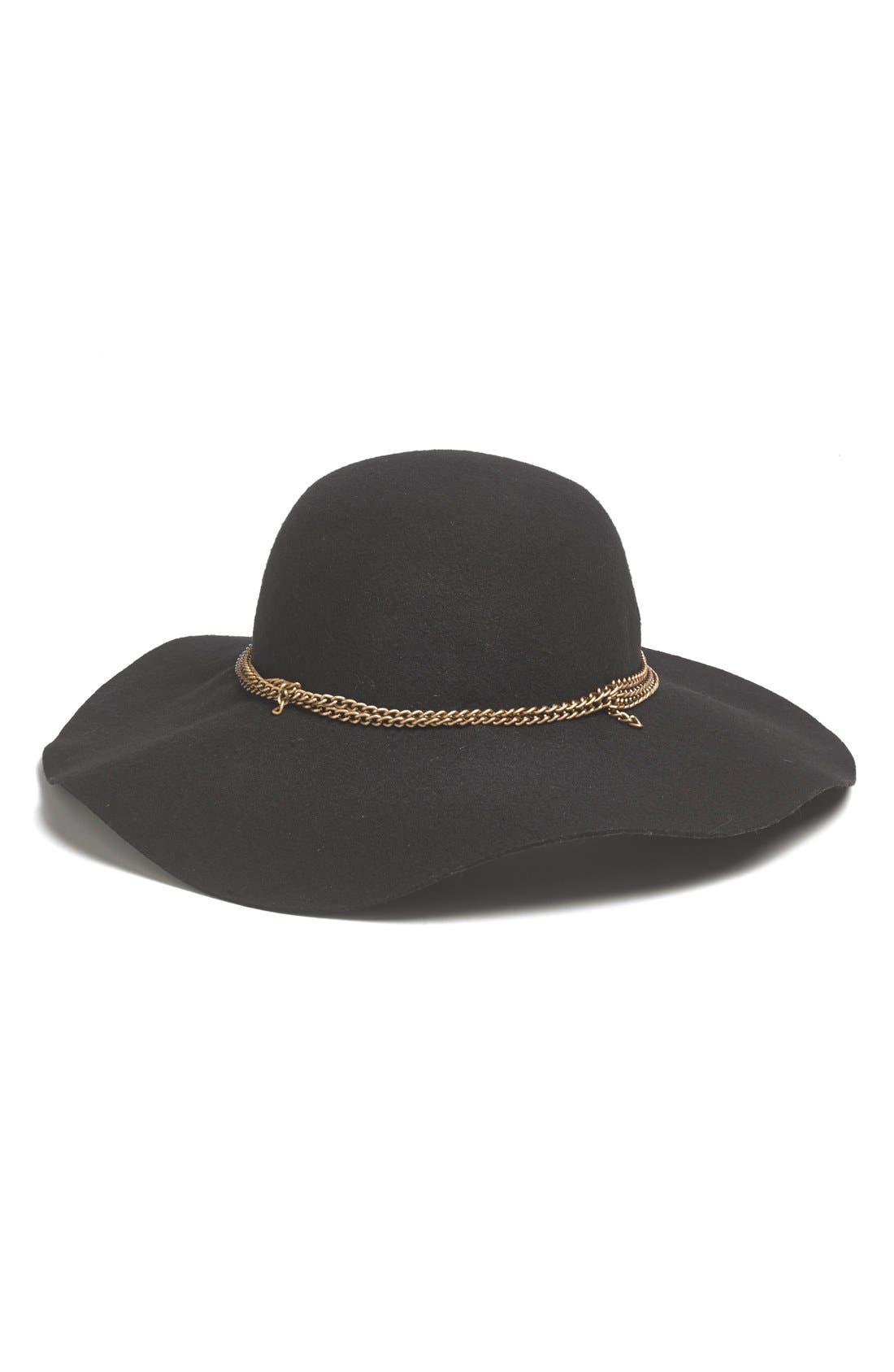 Alternate Image 1 Selected - Tildon Floppy Wool Hat