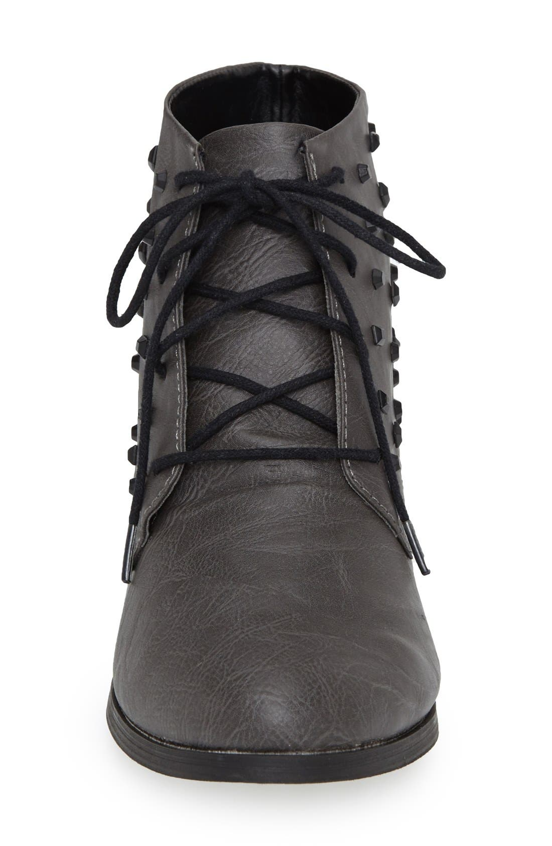 Alternate Image 3  - Volcom 'Exhibition' Lace-Up Bootie (Women)