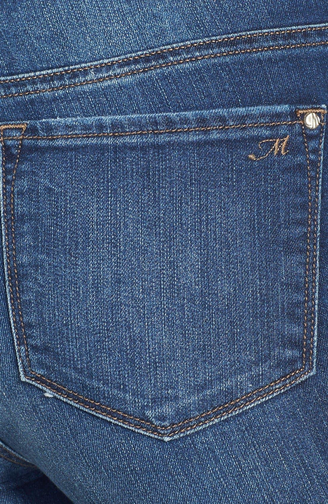 Alternate Image 3  - Mavi Jeans 'Alissa' Skinny Jeans (Medium Blue)