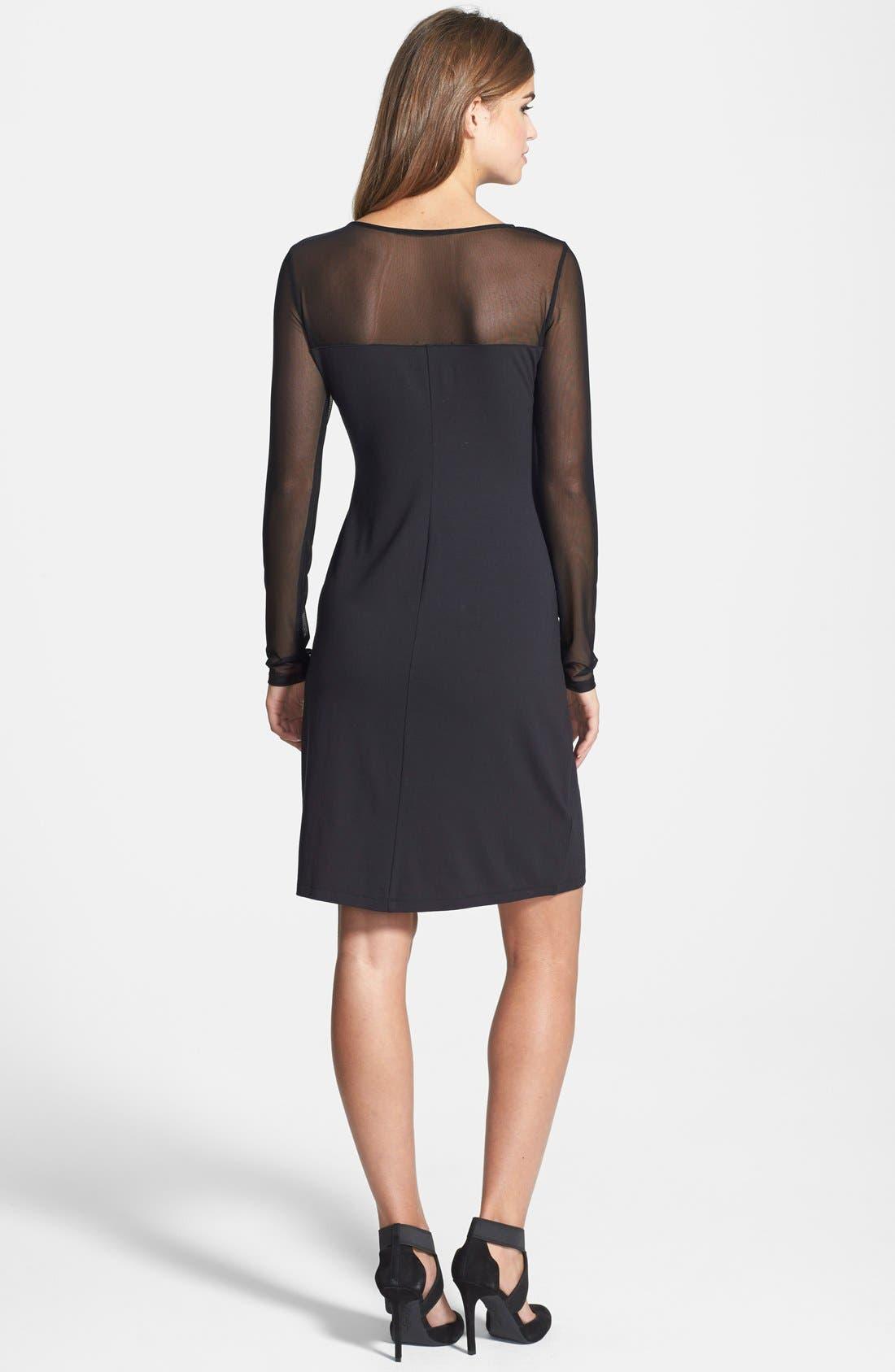 Alternate Image 2  - Tommy Bahama 'Gower' Illusion Neck Jersey Dress