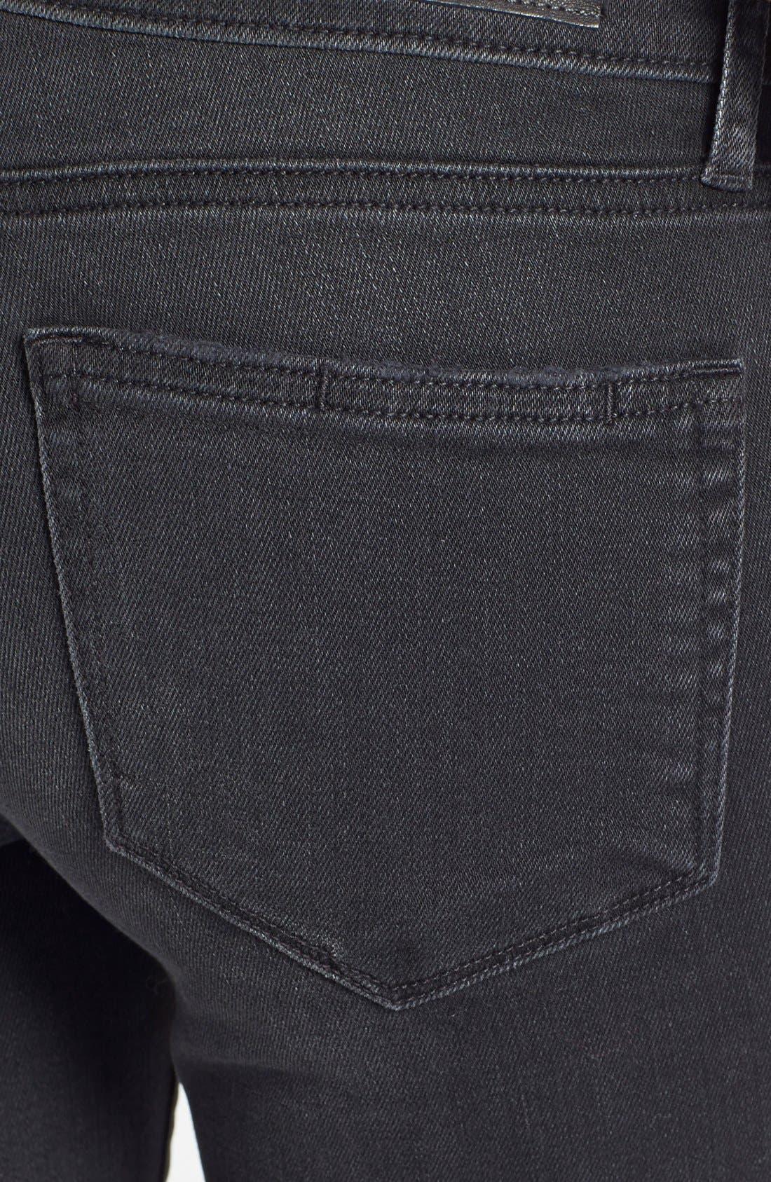 Alternate Image 3  - Paige Denim 'Verdugo' Ultra Skinny Jeans (Rayed Destructed)