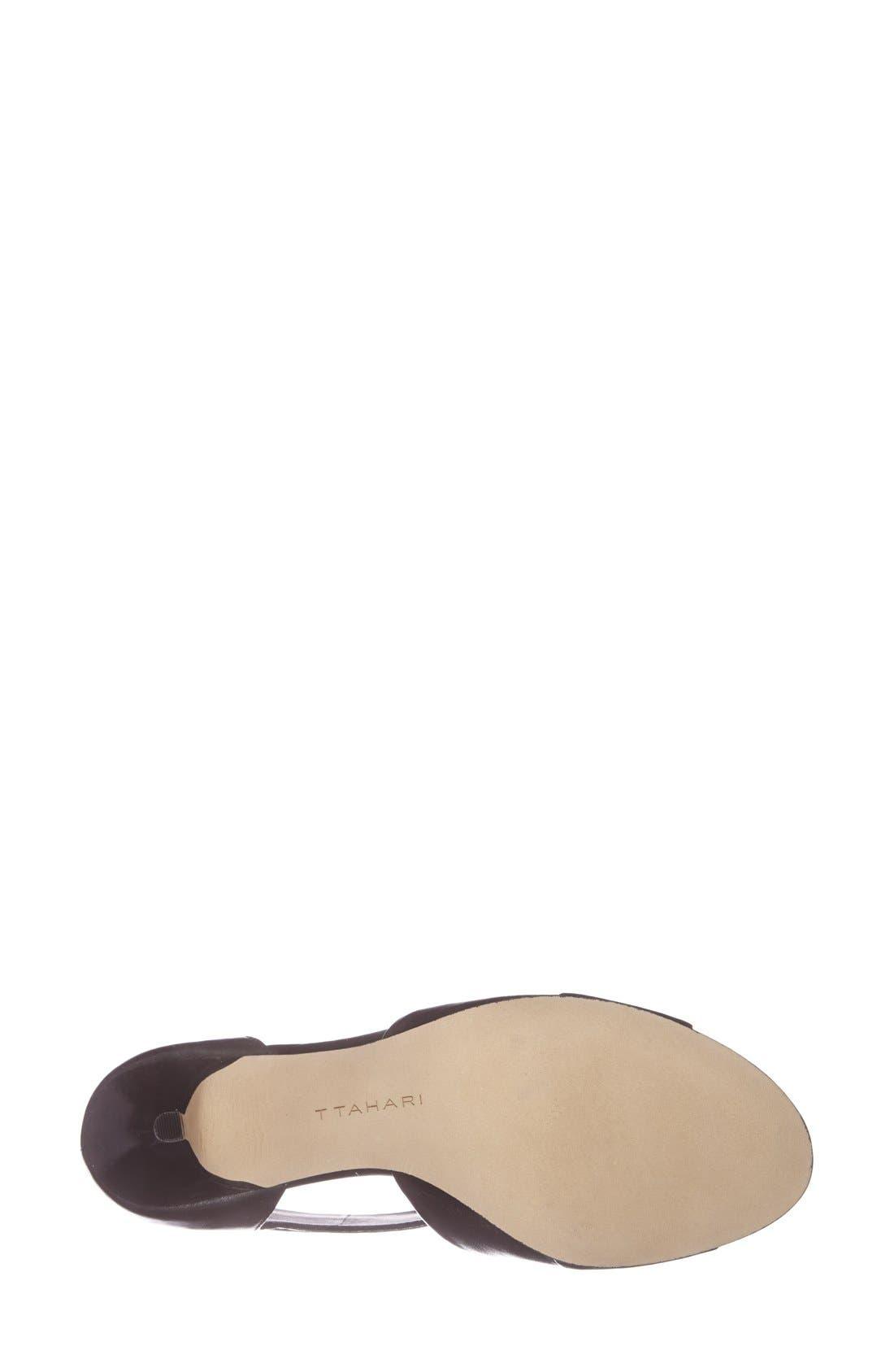 Alternate Image 4  - T Tahari 'Rumer' Cuff Leather Bootie (Women)
