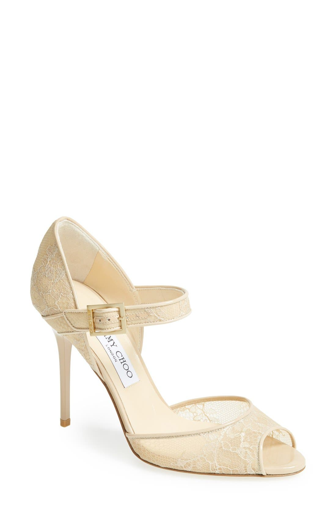 Alternate Image 1 Selected - Jimmy Choo 'Lace' Pump (Women)