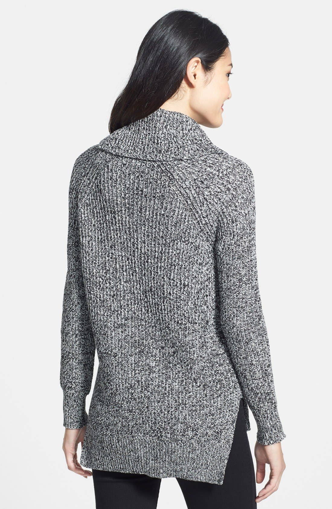 Alternate Image 2  - Chaus Cowl Neck Ribbed Sweater