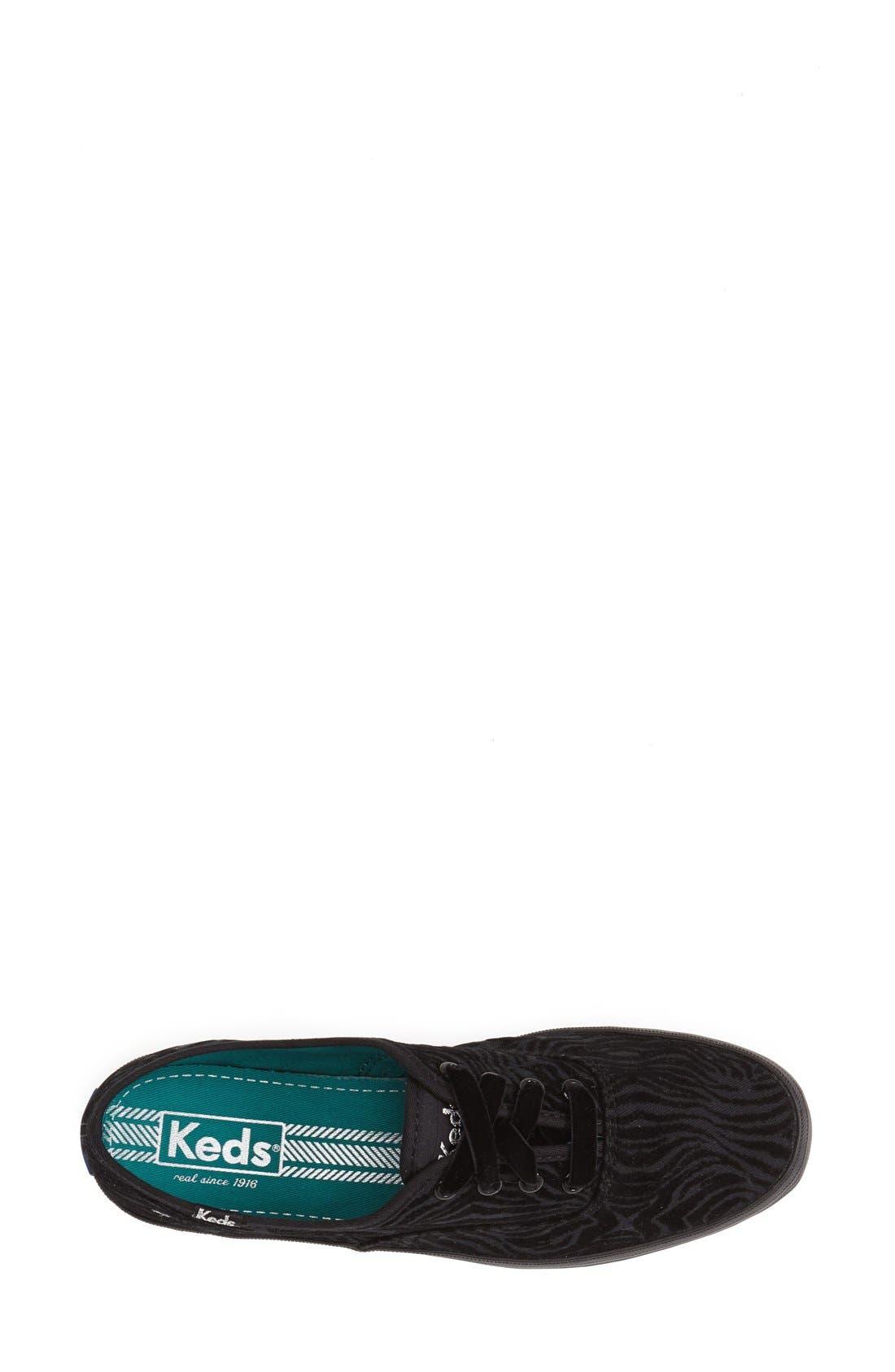 Alternate Image 3  - Keds® 'Champion - Zebra Stripe' Sneaker (Women)