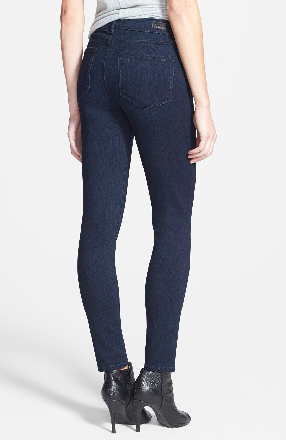 Alternate Image 2  - PAIGE 'Transcend - Verdugo' Ankle Jeans (Mae)