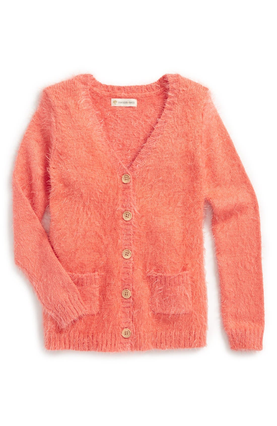 Alternate Image 1 Selected - Tucker + Tate 'Fluffy' Cardigan (Toddler Girls)