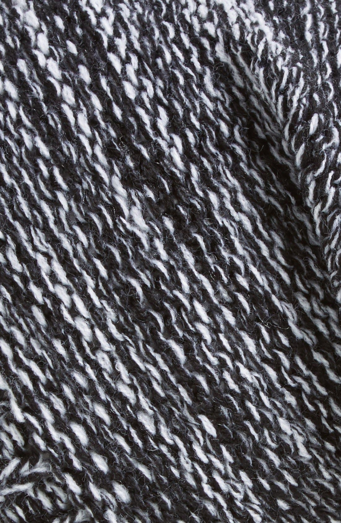 Alternate Image 2  - Capelli of New York Marled Knit Beanie (Juniors)