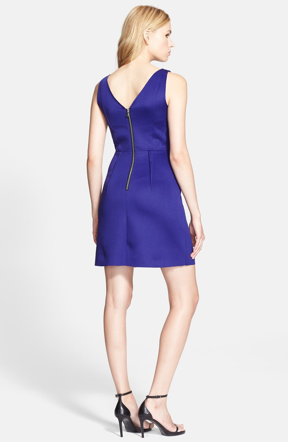 Alternate Image 2  - Milly Seamed Detail Shift Dress