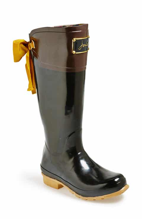 Women\'s Joules Rain Boot Special-Size Shoes   Nordstrom