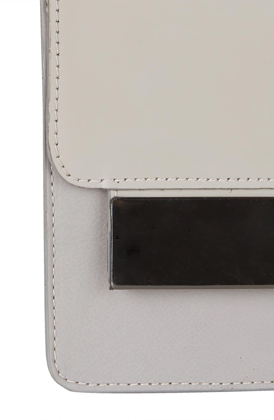 Alternate Image 4  - Topshop Premium Plate Shoulder Bag