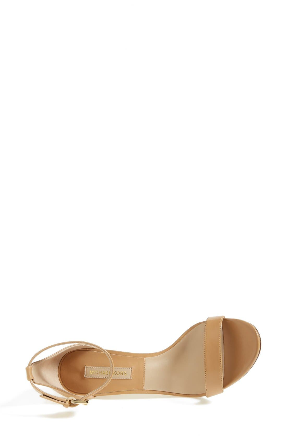 Alternate Image 3  - KORS Michael Kors 'Suri' Leather Sandal (Women)