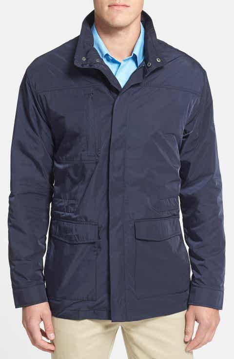 Cutter   Buck 'WeatherTec Birch Bay' Water Resistant Jacket (Big   Tall)