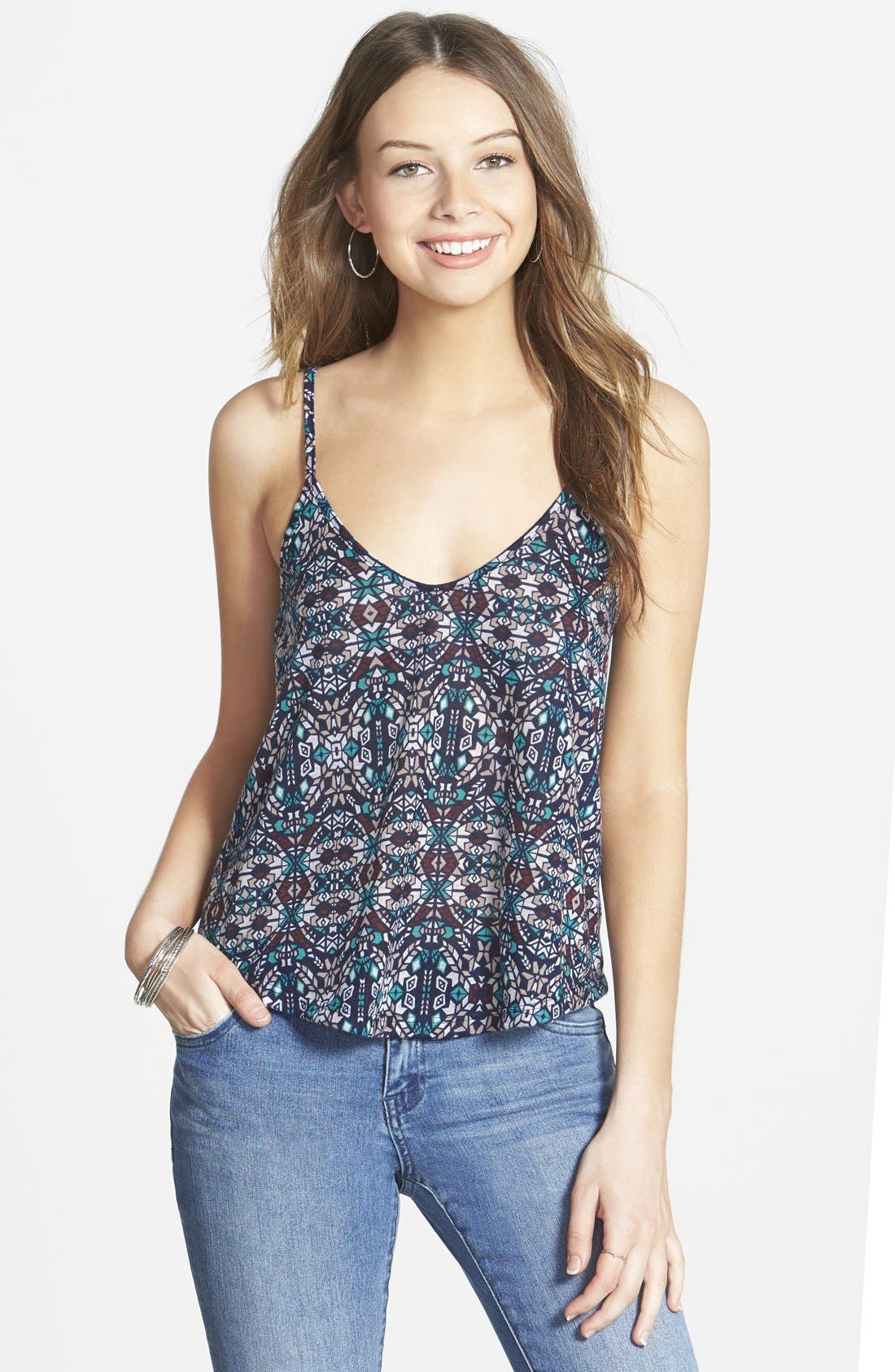 Alternate Image 1 Selected - Lush A-Line Camisole